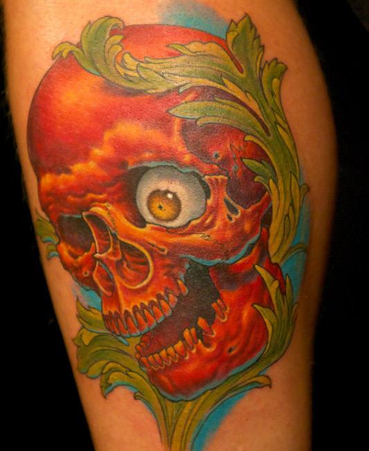 Shane O'Neill red skull